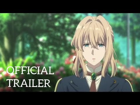 """""""Violet Evergarden Movie (2020)"""" New Trailer, Movie opens in Japanese theaters on September 18th"""