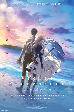Kyoto Animation Delays BD, DVD Release of Violet Evergarden: The Movie Anime to October 13
