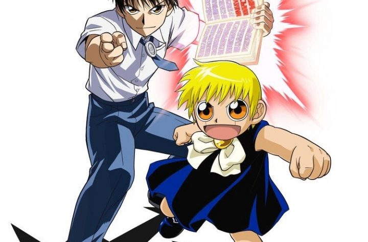 Toei Animation shares new key visual for the 20th anniversary of ZATCH BELL (Konjiki no Gash!!) and announces a new mobile game app & pop-up shop